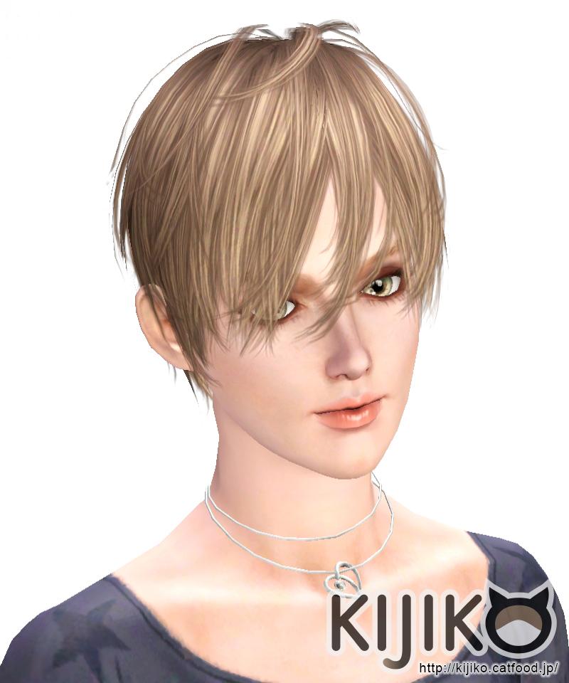 Straight Short Hair For Female Kijiko