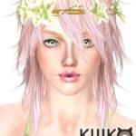 Pink & Fluffy longhair version (for Female)
