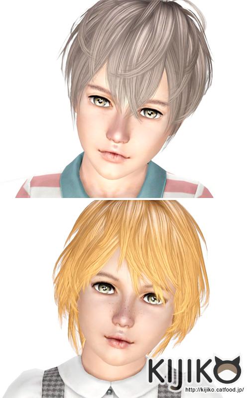 ビバ!こどもの日!子供用髪型追加しました。 Kijiko