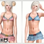 Swimwear for Girly Boy (Clothing)  パンダの水着