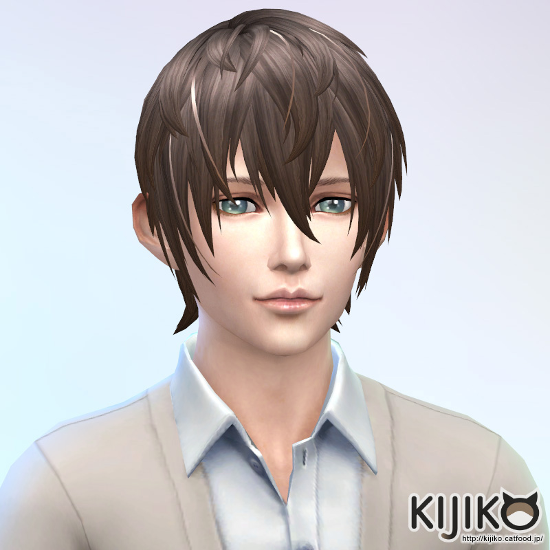 V Shaped Bangs For Male Kijiko