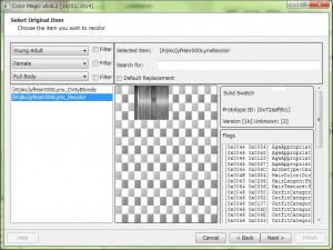 Choose the B/W texture.It's easy to recolor.