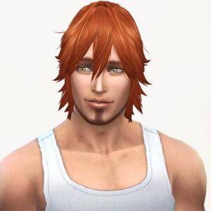 兄貴!再び出番です。<br /> スキンテスト時の兄貴に再び自作髪を被せてみました。・・・ていうか兄貴ごめん!あんまし似合ってないわ、その髪型。ちょっと松崎しげるを思い出した。