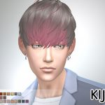 Short Hair With Heavy Bangs (for Male)