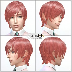 Sims4 hair/ fron,side,back シムズ4 髪型 詳細 非透過タイプです。 遠目に見てもカービィには見えませんか…
