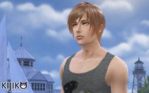 Sims4 hair/In Game シムズ4 髪型 ゲーム内のスクリーンショット Willow Creekっていつも空が初夏から夏っぽい気がします。