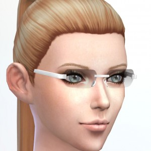 Some of EA's glasses make lashes distortion.