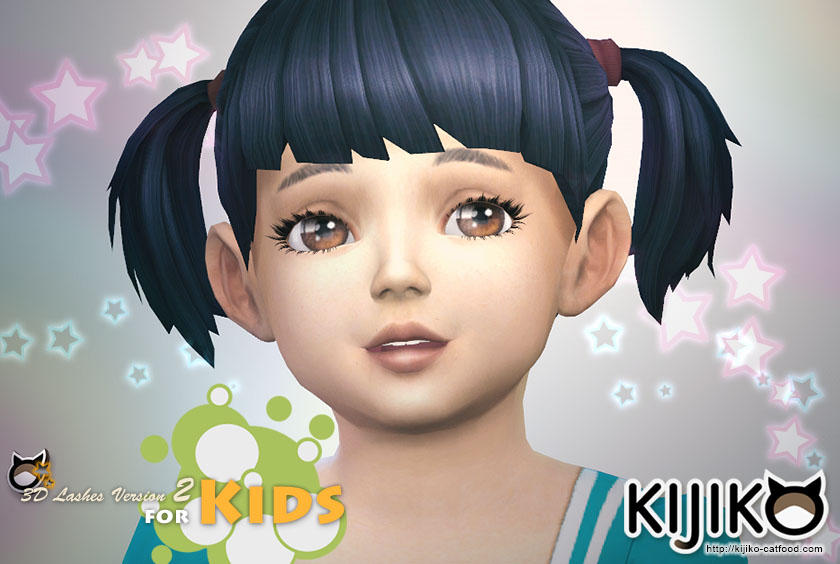 3d Lashes Version2 For Kids Kijiko