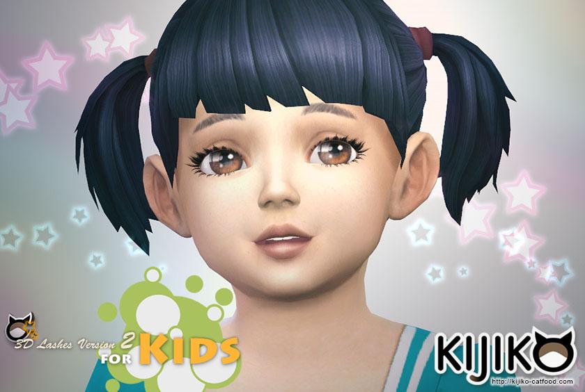 3d Lashes Version2 For Kids Kijiko