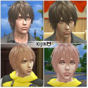 Sims4 hair/In Game シムズ4 髪型 ゲーム内のスクリーンショット ポストエフェクトを切ってます。
