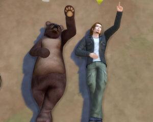 雲眺めてます。こう言う事は息子と一緒が良かったんですけどね。もうクマでもいいや。