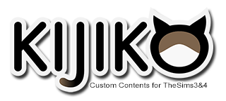 Kijiko – Free Custom Contents for The Sims 3 & The Sims4