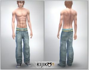 Relaxed Jeans for the Sims4 / Full Length シムズ4 服 リラックスジーンズです。