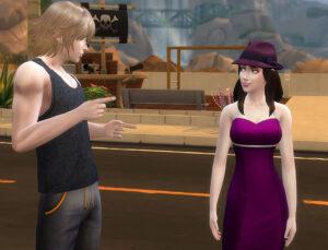 超普段着で待ち合わせ場所にきたものの、彼女が何故かドレスアップしてる!?