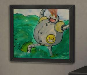 たまに大人の絵とは思えない絵を描きます・・・