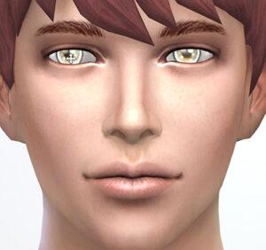 左右で瞳の大きさ、上下で瞳の上下位置を調整できます。