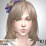 Long Layered Hair (for Female)