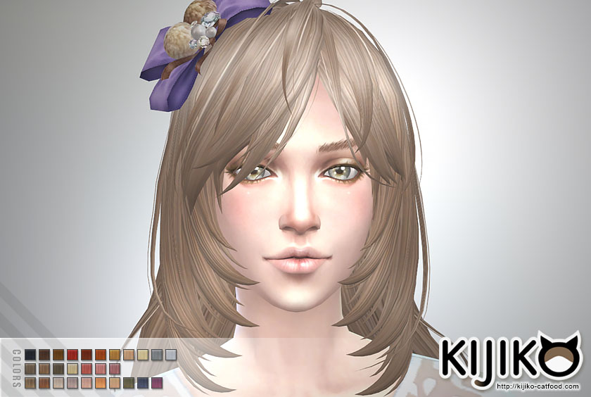 The Sims 4 Hair