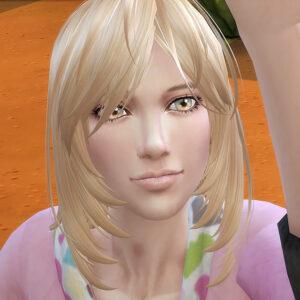双子シム1号、名前はエミル・パンダといいます。
