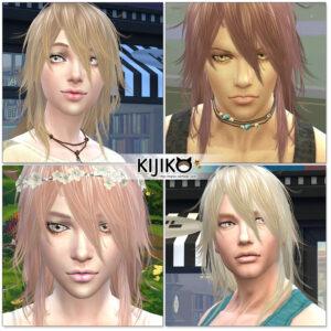 Sims4 hair/In Game  シムズ4 髪型 ゲーム内のスクリーンショット ポストエフェクトを切っています。