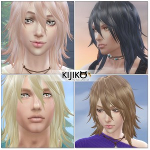 Sims4 hair/In Game シムズ4 髪型 ゲーム内のスクリーンショット