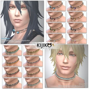 Chokers for the Sims4  シムズ4 チョーカー セット