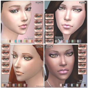 Sims4 Sheer eyeshadow シムズ4 シアー アイシャドー