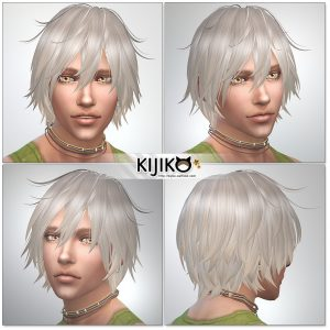 Sims4 hair/ fron,side,back  シムズ4髪型 詳細