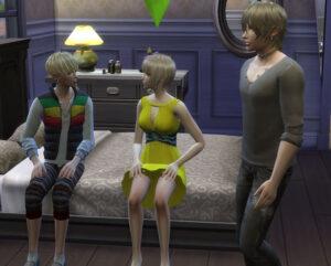 恋人の一人が家に遊びにきたとたんに、もう一人が遊びにきました。・・・やばいバッティングしてますがな。