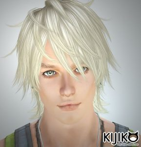 sim3 hair Shaggy Hair (for Male) シムズ3 髪型 Shaggy Hair (for Male)