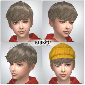 Sims4 hair/  シムズ4 髪型 詳細 非透過タイプです。