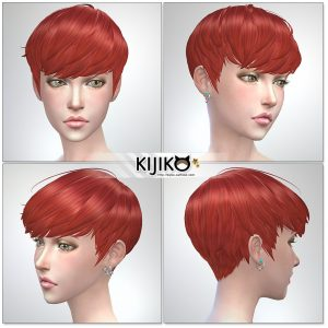 Sims4 hair/ for Female / Feminine Frame シムズ4髪型 詳細