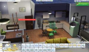 アパートはあらかじめ区画の形状が決まっていて、それより外には増築はできません。