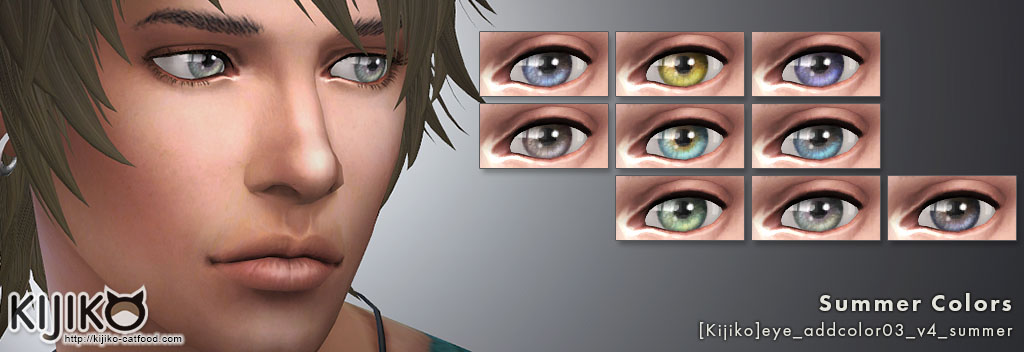 Eye colors – Default Replacement + Non-default + Vampires