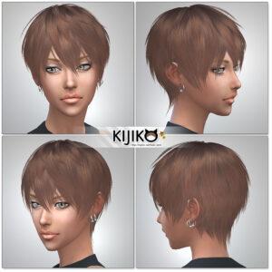Sims4 hair/ for Female / Feminine Frame シムズ髪型 詳細