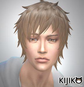 Sims4 hair/Shaggy Short シムズ4 髪型 詳細